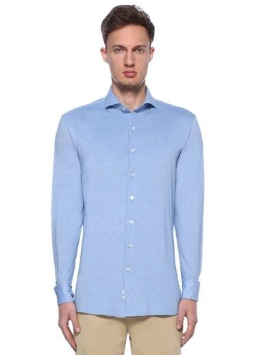 Lardini Gömlek Mavi